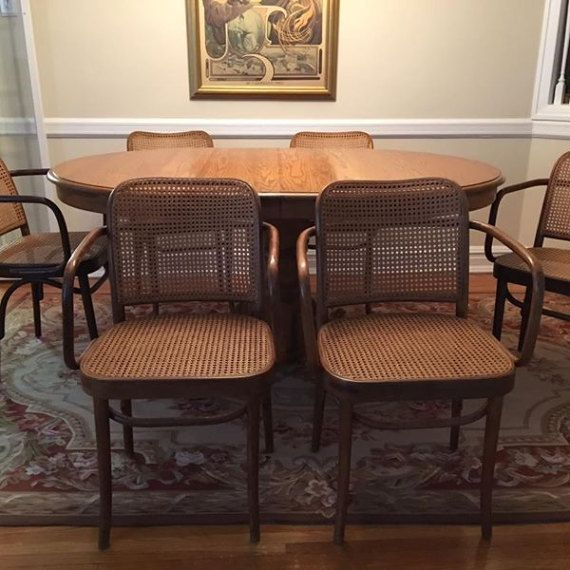 Mid Century Bentwood Thonet Dining Chairs Set Of By FreewheelFinds