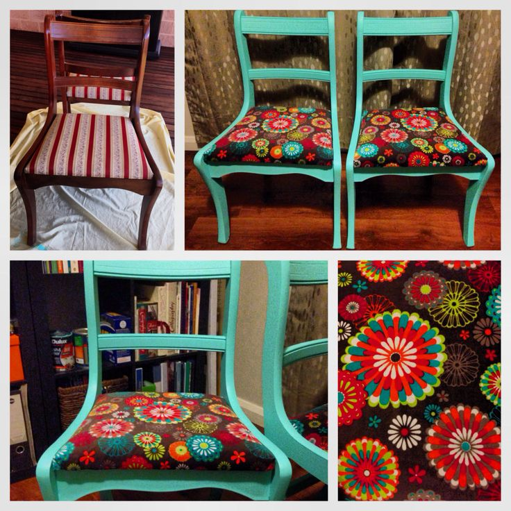 #beforeandafter #upcycled #diy #chair #bohemianstyle