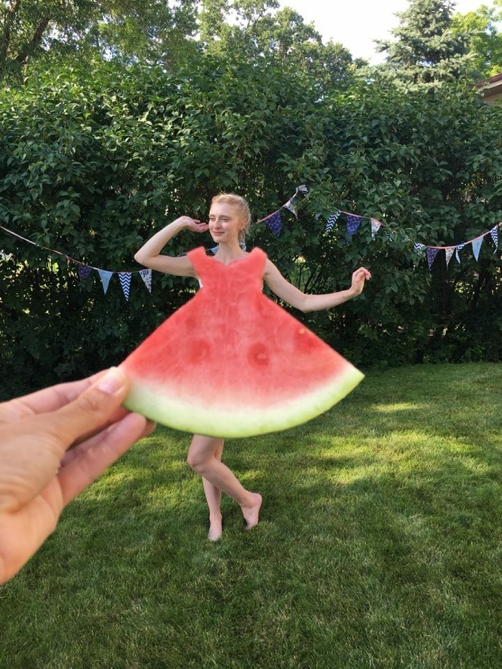 I was told to crosspost this watermelon dress picture here in hopes that someone may find inspiration for their next project! #sewing #crafts #handmade #quilting #fabric #vintage #DIY #craft #knitting