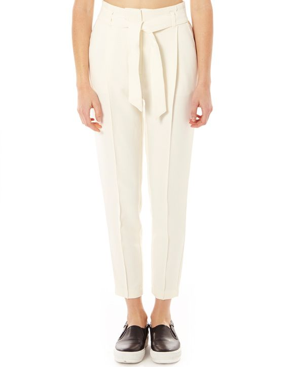 Paper Bag Waist Trousers
