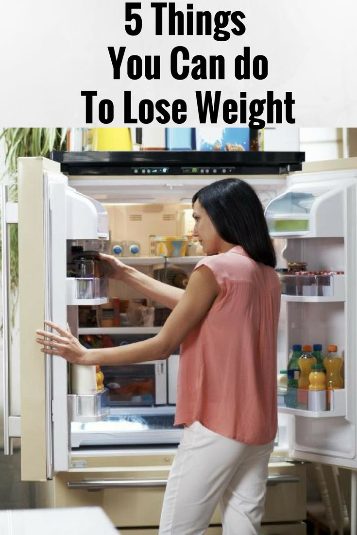5 THINGS YOU CAN DO TO LOSE WEIGHT %,;