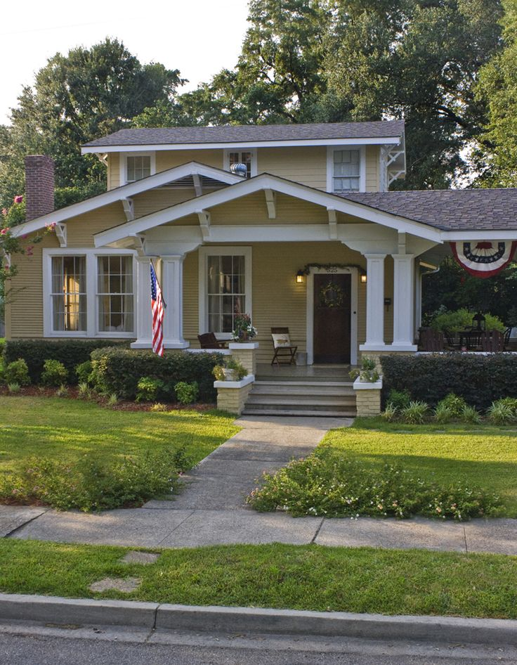 2047 best images about craftsman and bungalow houses on pinterest - Craftsman bungalow home exterior ...