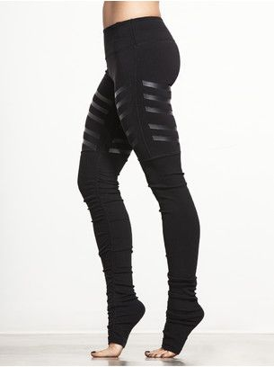 Goddess Ribbed Legging--perfect for hot yoga so you can maintain your grip and hold your pose