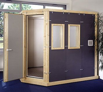 Sound Isolation Booths - STUDIOBOX Vocal Booths, Test Certificates