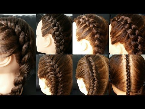 CÓMO HACER LAS MEJORES TRENZAS PASO A PASO | Braid Hairstyles Patry Jordan - YouTube
