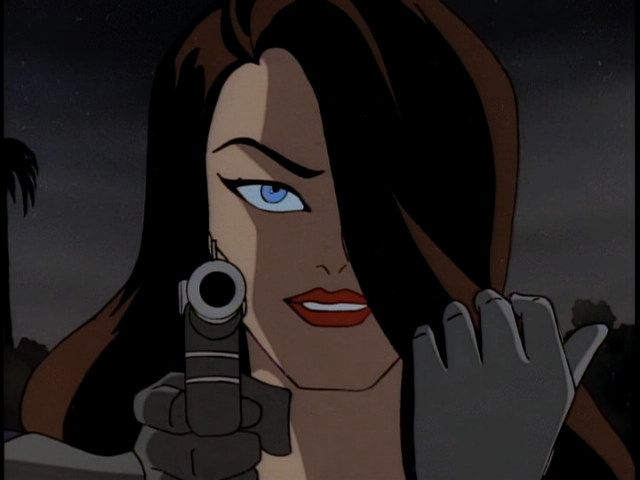 Minorities in cartoons: Talia al Ghul                              …