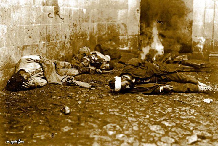 Sokaklarda katledilen Türkler