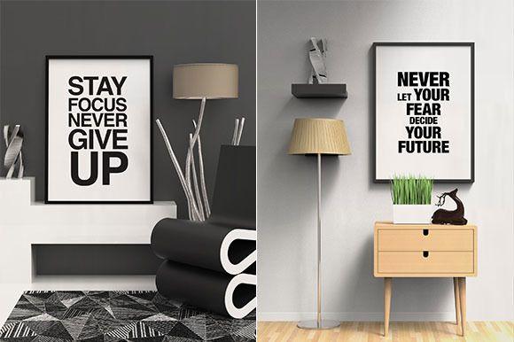 Modern Contemporary Frame Mockup by antyalias store on @creativemarket
