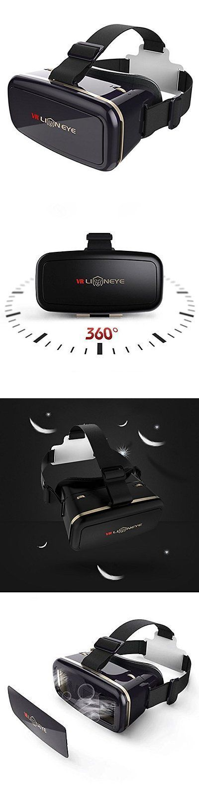 Smartphone VR Headsets: 3D Virtual Reality Headset 3D Glasses Mobile Phone For Iphone Samsung And Galaxy BUY IT NOW ONLY: $40.07