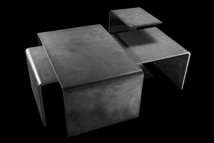 Set of Coffee tables Gravelli Trio set