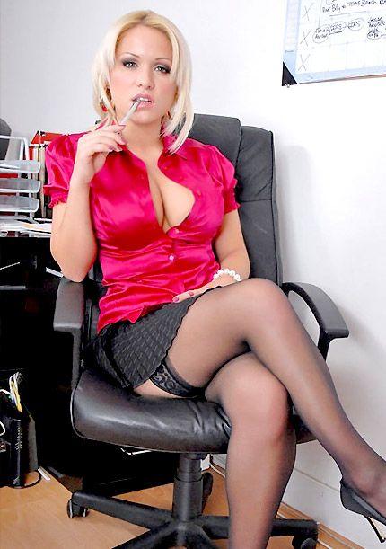 Stockings kink big tit milf