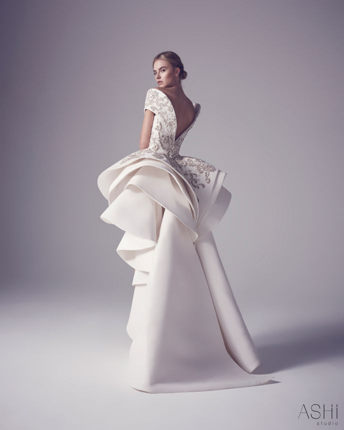 Ashi Studio 2016 collection 4   THIS WOULD BE PERFECT IF IT WAS A TAILORED JUMPSUIT, WITH SAME BACK