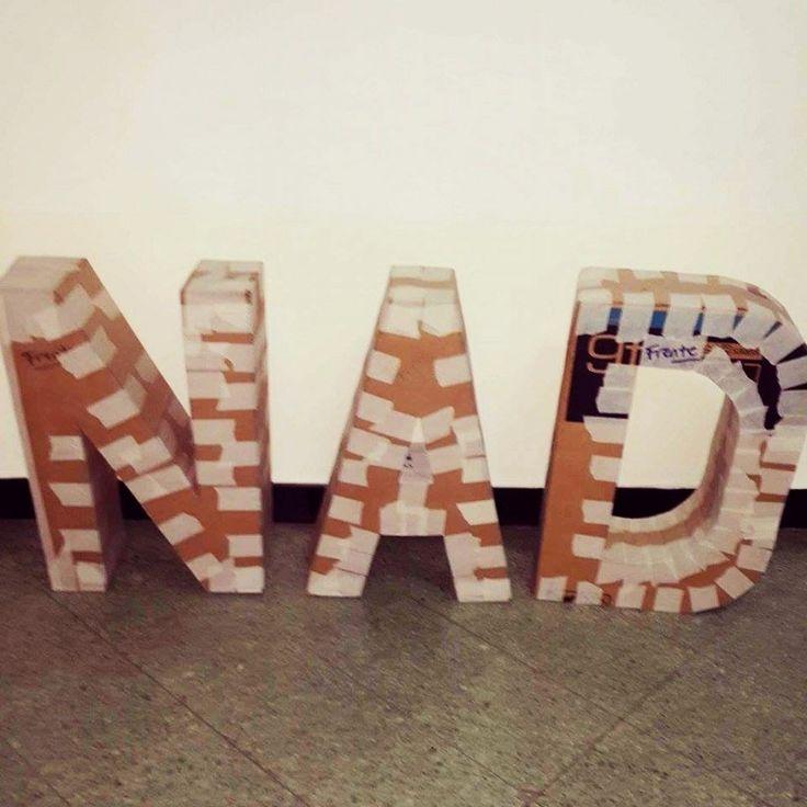 Haz tus propias Maxi-letras decorativas para el matrimonio