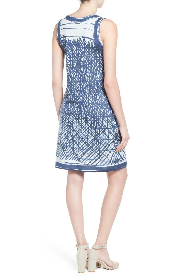 Main Image - NIC+ZOE Blue Crush Shift Dress