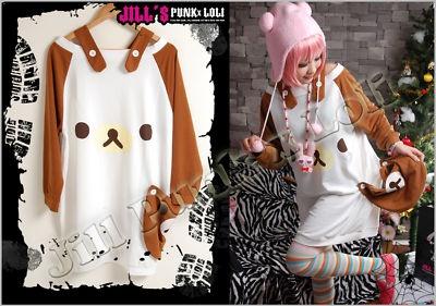 Lolita Cutie Rilakkuma  T Shirt B