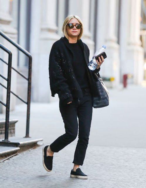 Ashley Olsen street style | Street Style | Pinterest