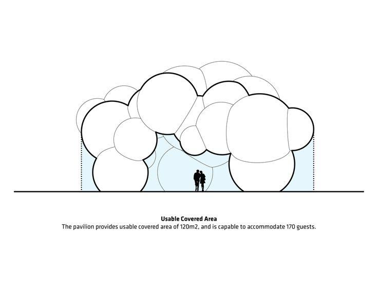 Gallery of BIG-Designed Inflatable Pavilion Lights Up Roskilde Festival – 18