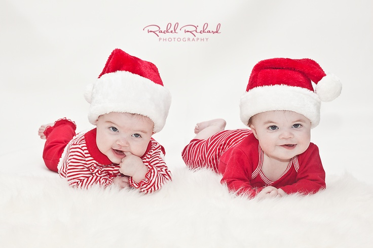 www.rachelrichard.com www.facebook.com/rachelrichardphotography Indianapolis, IN Photographer photography baby 6 months Christmas twins