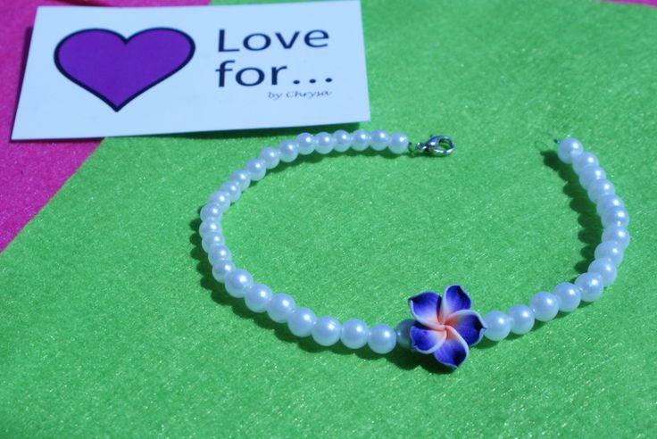 bracelet for the leg 2,00 www.lovefor.gr