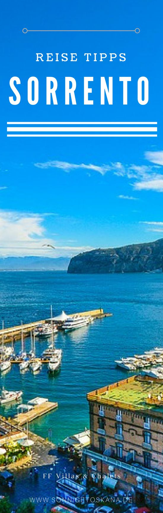 Where to stay in Sorrento? For Families and Groups of Friends #travel #sorrento #italy #italien #reisen #ferienvilla #ferienhaus #sorrentovillas