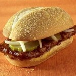 """Make Your Own """"McRib"""" Sandwiches! Maybe for my hubby...I don't really care for them :p"""