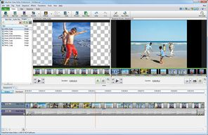 VideoPad Free video editing software download - has audio and a variety of effects for videos and/or photos