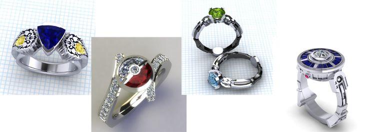 Ultimate Nerd Guide to Geek Wedding Rings - The Nifty Nerd