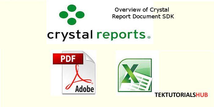 Export Crystal Report. Report Document SDK