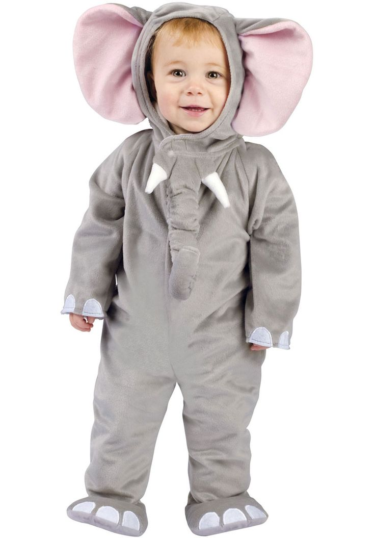 Cuddly Elephant Costume, Toddler