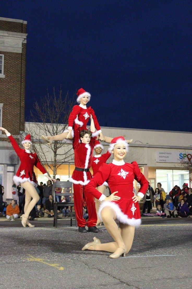 VRDC Dancers at Christmas Parade. Photo Kelly Millar