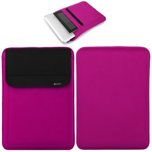 Casecrown neoprene sleeve case pink for 13 inch apple for Housse neoprene ipad air