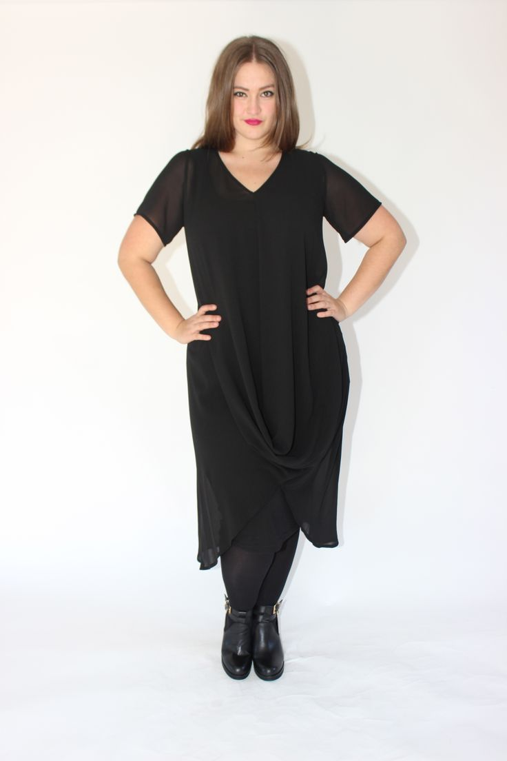 DEANNA DRESS - BLACK