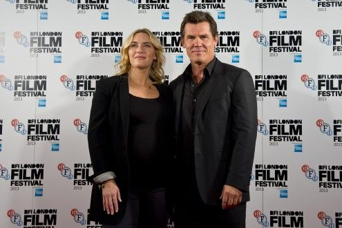 Kate Winslet and Josh Brolin. Labor Day screening.