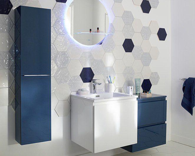 salle de bain lumineuse astuce conseils salles de. Black Bedroom Furniture Sets. Home Design Ideas