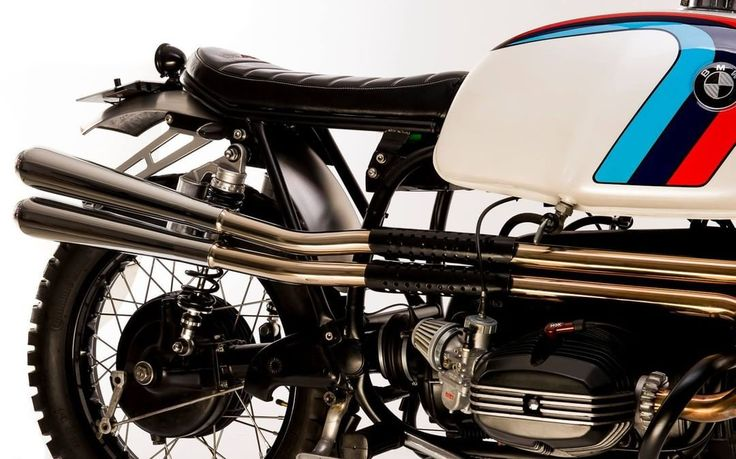 BMW Scrambler by Side Rock Cycles #motorcycles #scrambler #motos | caferacerpasion.com