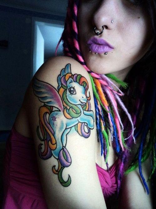 30 Beautiful Little Pony Tattoos