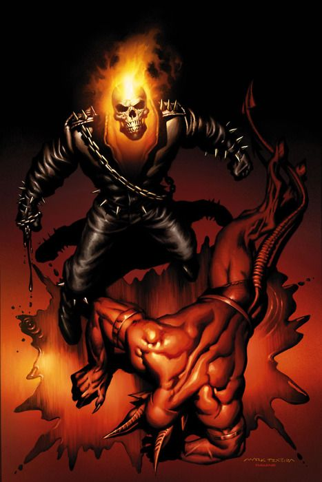 Ghost Rider Defeats the Devil