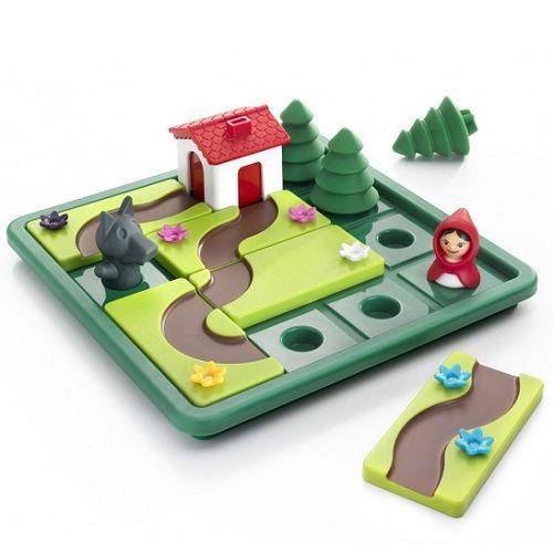 επιτραπέζιο 'Κοκκινοσκουφίτσα' Δημιουργήστε το μονοπάτι έτσι ώστε η κοκκινοσκουφίτσα να οδηγηθεί στο σπίτι της γιαγιάς της χωρίς να κινδυνεύει από τον κακό λύκο! Η εταιρεία SmartGames παρουσιάζει μια σειρά από παιχνίδια λογικής και ενδυνάμωσης IQ. Με τη βοήθεια του παιχνιδιού ¨κοκκινοσκουφίτσα¨, εμπνευσμένο από το γνωστό παραμύθι, αναπτύσσονται η λογική σκέψη, η στρατηγική και η οπτική και χωρική αντίληψη.  http://mikk.ro/cyZ