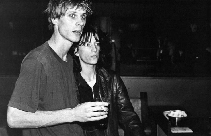 Tom Verlaine & Patti Smith