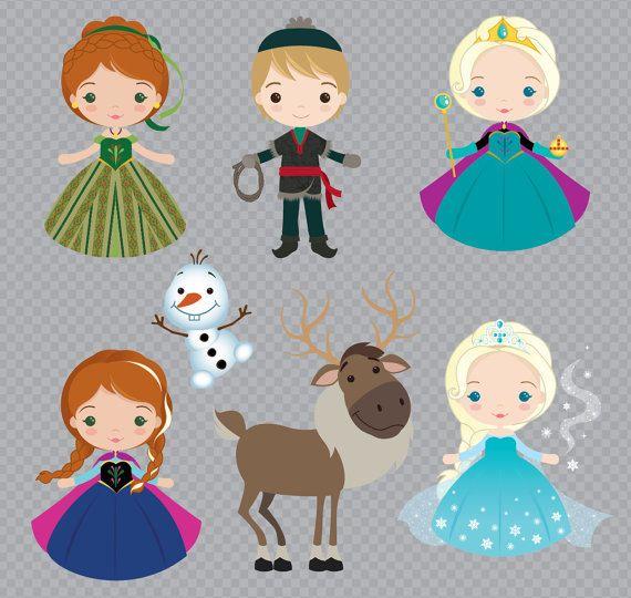 Congelados juego inspirado en princesa imágenes por araqua en Etsy