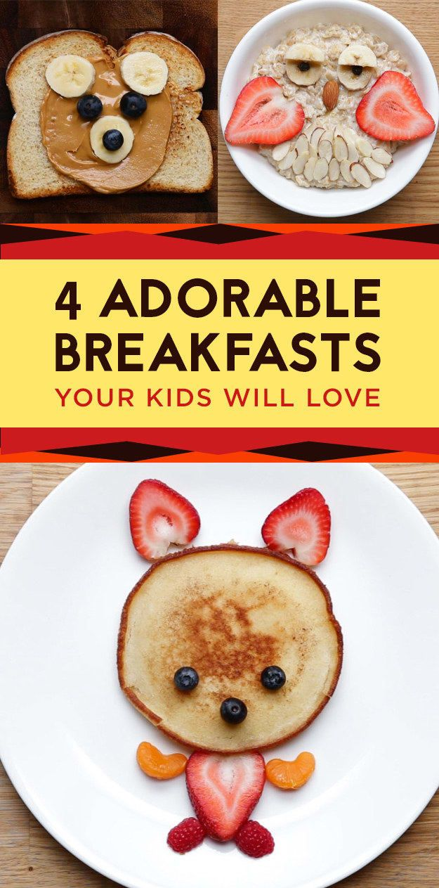 These Kid-Friendly Breakfasts Are Almost Too Cute To Eat