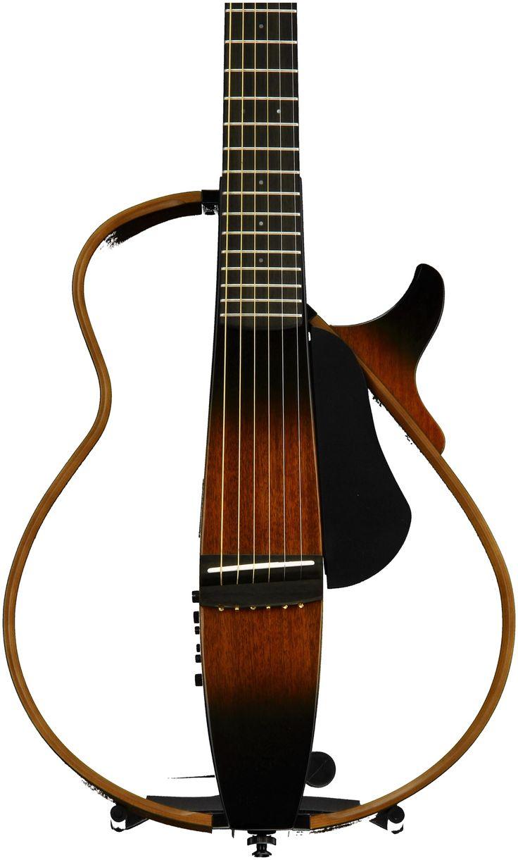 Yamaha Slg200s Silent Guitar Tobacco Sunburst Guitar Yamaha Silent Sunburst