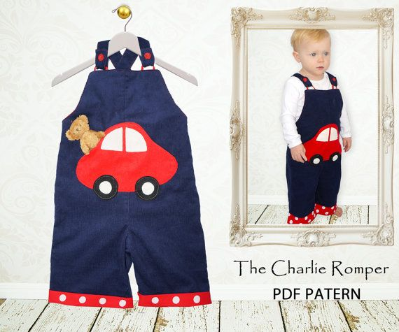 17 Best Images About Baby Kids Overalls Romper Patterns On