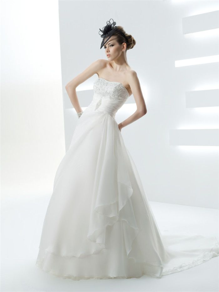 AFN charming wedding bridal gowns