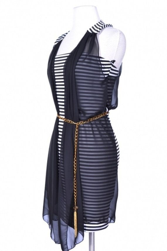 robe noire robe grande taille robe blanche  par FASHIONJEWELRY7, $57.00