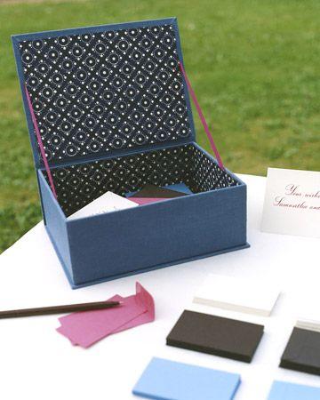 Samantha and Donal's Keepsake Box