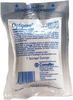 Optipore Single Use Scrub Sponge, Each by ConvaTec. $11.52. (SOLD BY EACH) Optipore Single Use Scrub Sponge, Each. Soft, pliable, butterfly foam sponge specifically designed for use as a scrubbing implement for skin wounds. Fine, porous structure ensures minimal wound trauma due to mechanical cleaning. Combine with the lubricating ability of Shur-Clens® wound cleanser to reduce infection rates in contaminated wounds . Brand: Convatec