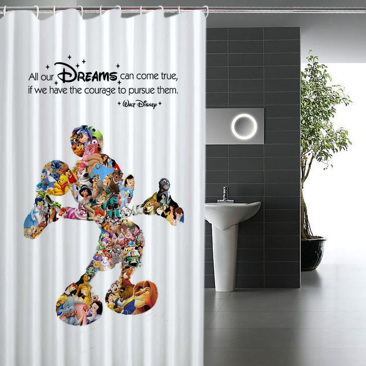 25 Best Ideas About Mickey Mouse Shower Curtain On
