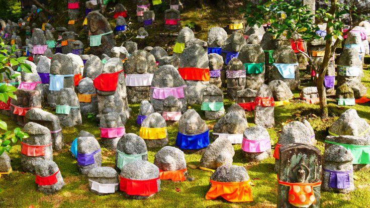 Monk Statuettes, Japan
