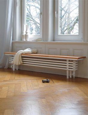 Zehnder Bank Radiator In Wohnraum, Flur Oder Diele Hält Der Zehnder  Bank Radiator